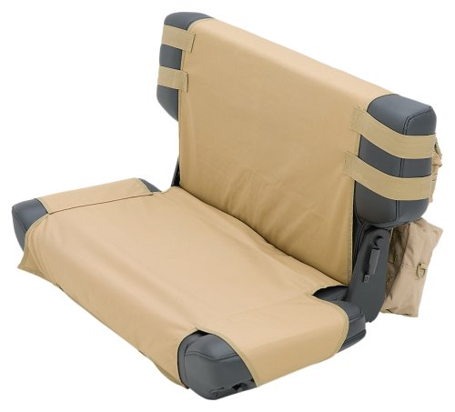 Smittybilt 5660224 GEAR Tan Rear Seat Cover