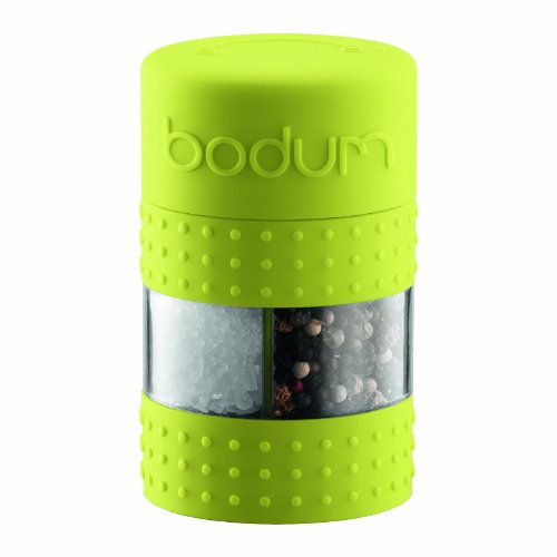 Bodum Bistro Salt and Pepper Grinder, Green