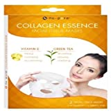 Nu-pore Natural Collagen Essence Mask with pre-moistened Green Tea Cleansing Tissues by Nu-Pore