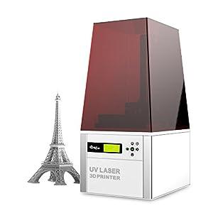 XYZprinting Nobel 1.0 3D Printer, Clear/Grey