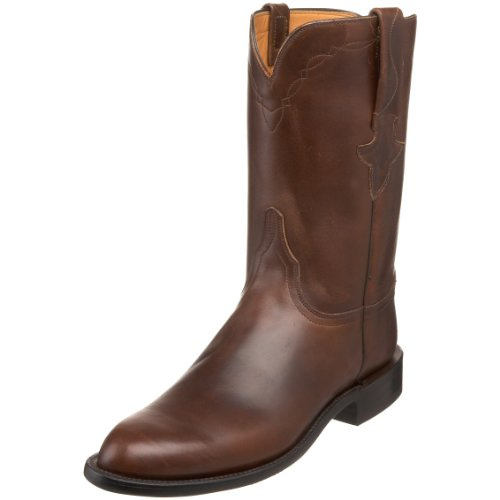 Lucchese Classics Men's L3512.RR Western Boot,Chocolate oiled,13 EE US