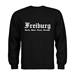 MDMA Sweatshirt Freiburg Harder, Better, Faster, Stronger N14-mdma-s00297
