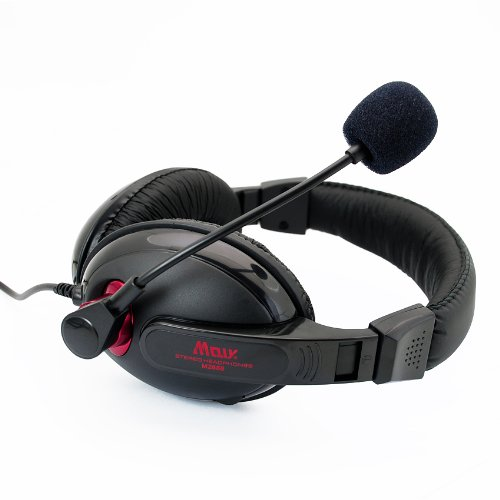 Professional Stereo Headphone Headset Tx3 3.5Mm With Mic Microphone For Computer Pc Laptop Notebook