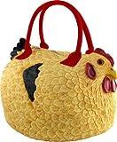 "Rubber Chicken Hen Tote Bag Handbag Purse Pocketbook ""Henbag"""
