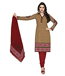 Shree Ganesh cotton Printed Unstitched Dress Material