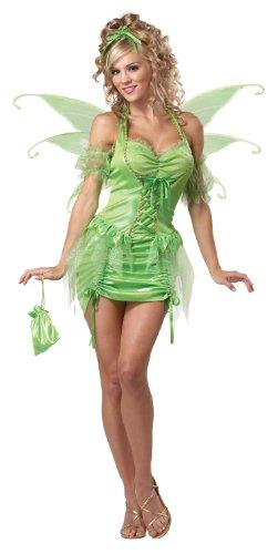 California Costumes Women's Eye Candy - Tinkerbell Fairy Adult, Green, Medium
