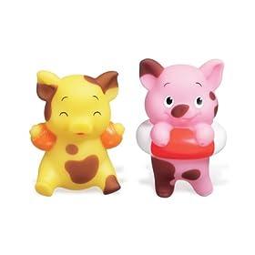 Munchkin Muddy Pigs Bath Toy