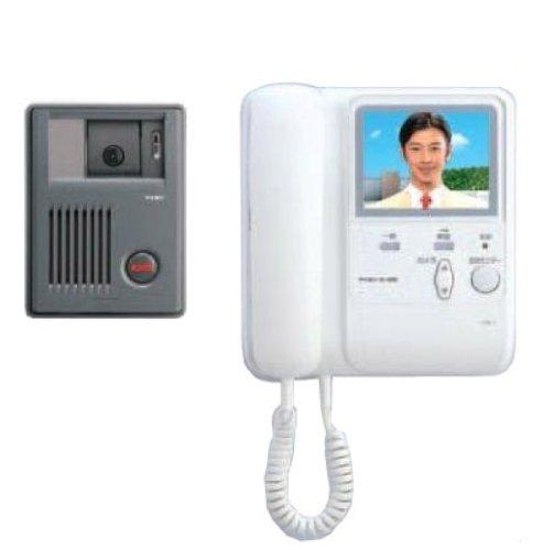 【Amazonの商品情報へ】アイホン 受話器式カラーテレビドアホンKC1・3型 KCS-1GRD-T