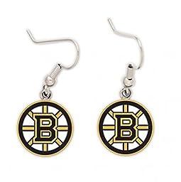 Boston Bruins Logo Earrings