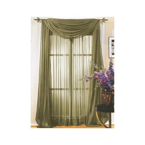 Amazon.com - PERI Homeworks Collection Chiffonade 42 x 84 Tailored