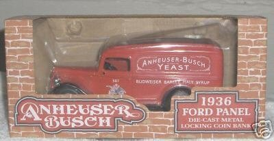 anheuser-busch-1936-ford-panel-die-cats-metal-locking-coin-bank-by-ertl