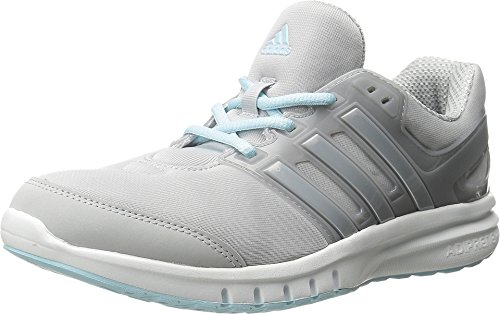 Adidas Performance Women's Galaxy Elite 2.0 Women's Running Shoe,Clear Grey/Silver/Frozen Blue,8.5 M US