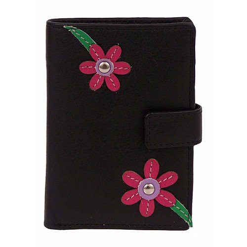 Mala Leather Blossom Credit Card Holder