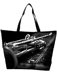 Snoogg Music Bass Designer Waterproof Bag Made Of High Strength Nylon