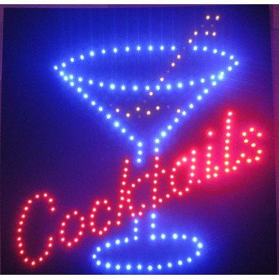 Creative Motion Cocktails Led Sign