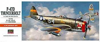 HASEGAWA 00138 1/72 P-47D Thunderbolt