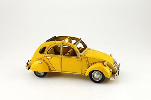 The Model-Metal Vintage Duck C4 Yellow - 26 x 11 x 17.5 cm