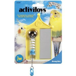 Cheap Brand New, JW Pet Company Activitoy Strong Bird Toy Assorted Colors (Bird – Small Toys) (MSS080-31097-RR|1)