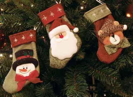 Weihnacht Socken Strümpfe 3 Stück