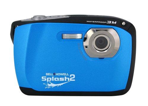 Bell+Howell Splash Ii Wp16-Bl 16Mp Waterproof Digital Camera With 2.5-Inch Lcd Screen (Blue)