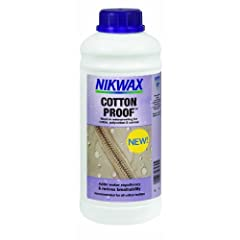 Buy Nikwax Cotton Proof Concentrate 1-Liter Bottle by Nikwax