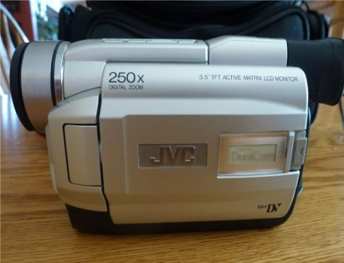 Jvc Grdvl805U Minidv Digital Camcorder With Built-In Digital Still Mode