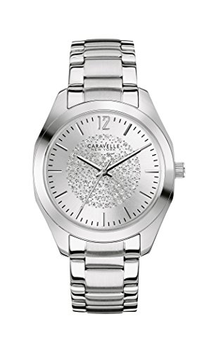 Caravelle New York Women's Quartz Watch with Silver Boyfriend Analog Quartz Stainless Steel 43L179