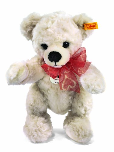 Steiff Benny Teddy Bear, cream Plush Bear