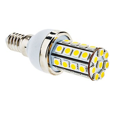 E14 7W 36X5050 Smd 560-590Lm 3000-3500K Warm White Light Led Corn Bulb (85-265V)
