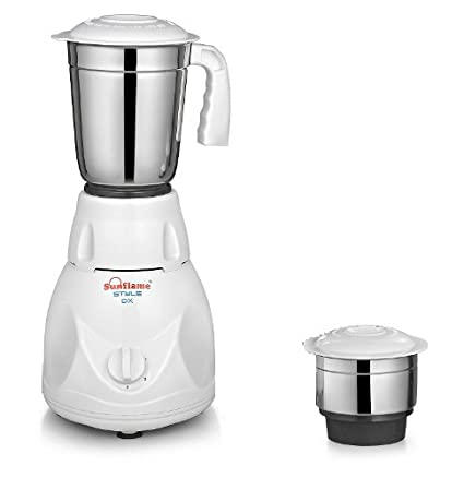 Sunflame Style 2 Jar 450W Mixer Grinder