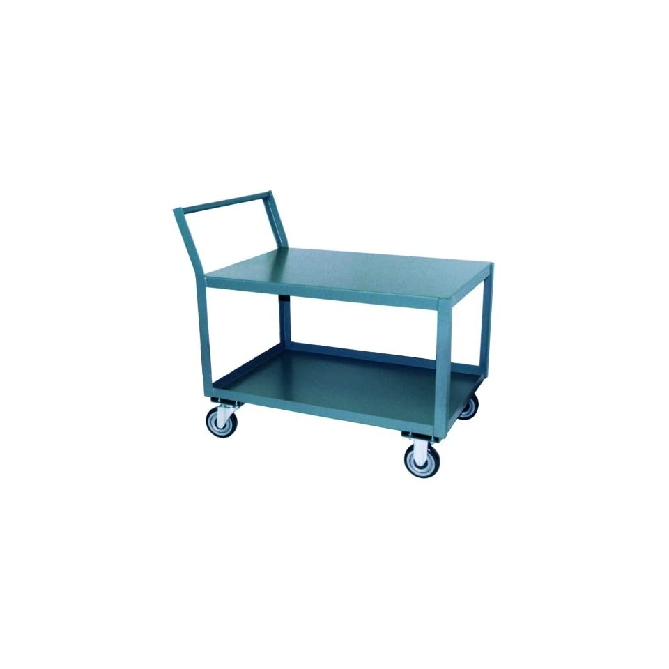 Jamco Products SL136 U5 GP 18 Inch by 36 Inch 1200 Pounds Capacity Offset Handle Low Profile Cart