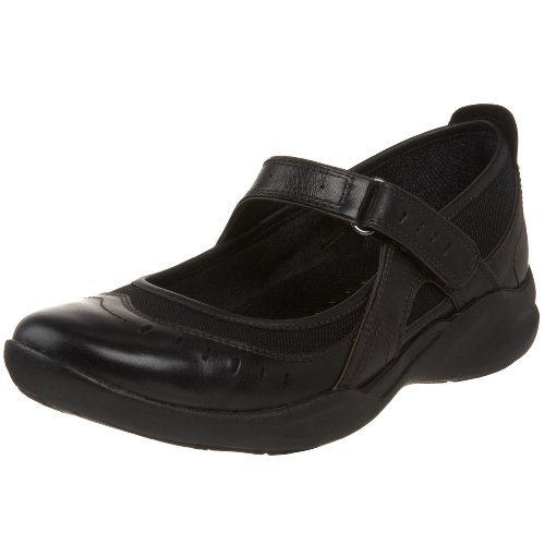 Clarks Women's Wave.Cruise Mary Jane,Black,8 M US