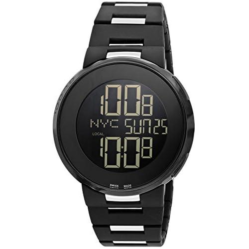 [グッチ]GUCCI 腕時計 Iグッチ ブラック文字盤 YA114205 メンズ 【並行輸入品】