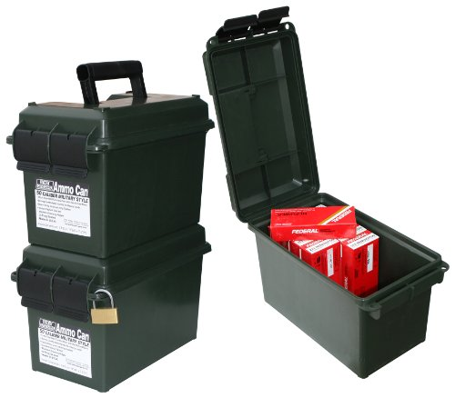 MTM Forest Green 50 Caliber Ammo Storage Can