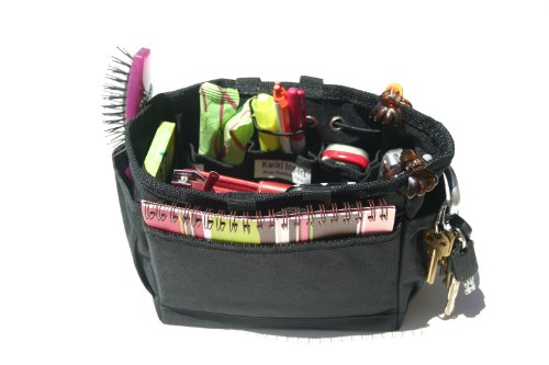 Kwiki Purse Insert Organizer BLACK Medium by BagnBasket