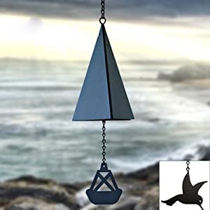 North Country Wind Bells Door County Bell ™ with Fish - Single Tones