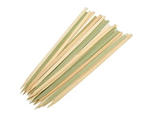 Charcoal Companion Wide Bamboo Grilling Kabob Skewers, Set of 25 at Sears.com