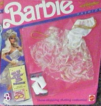 Barbie Ice Capades 50th Anniversary -White and Gold Outfit 4083