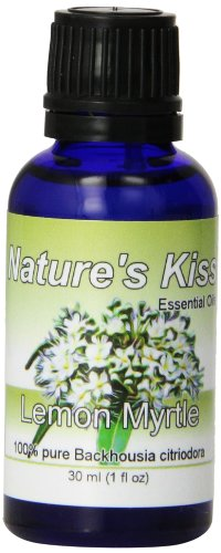Nature's Kiss 100% Pure Essential Oil, Lemon Myrtle, 1 Fluid Ounce
