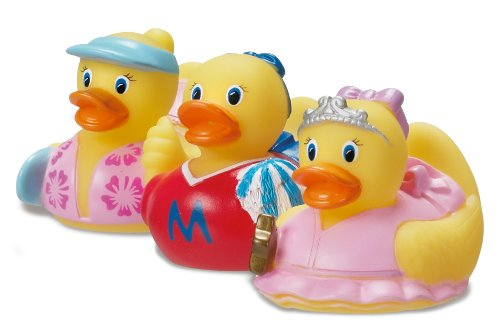 Munchkin 3 Pack Mini Ducks Girl, Colors May Vary - 1
