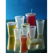 Dart 12CS 12-Ounce Conex Clear Squat Cold Cup 50-Pack (Case of 20)