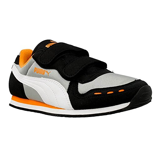 Puma - Cabana Racer - 35637316 - Couleur: Gris-Noir-Orange - Pointure: 25.0
