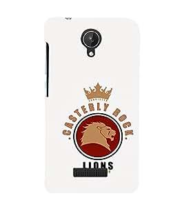 EPICCASE Casterly Rock Lions Mobile Back Case Cover For Micromax Canvas Spark Q380 (Designer Case)