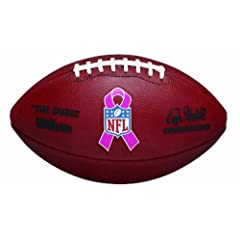 Wilson Breast Cancer Awareness Game Football by Wilson