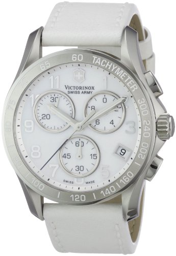 Victorinox Swiss Army Women'S 241418 Classic White Mother-Of-Pearl Dial Watch front-844377