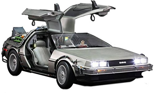 Back To The Future Hot Toys 1:6th Scale DeLorean Collectible Vehicle