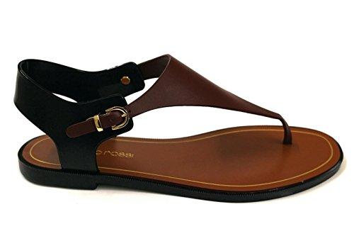 sergio-rossi-womens-a74480marronenero-brown-black-pvc-sandals