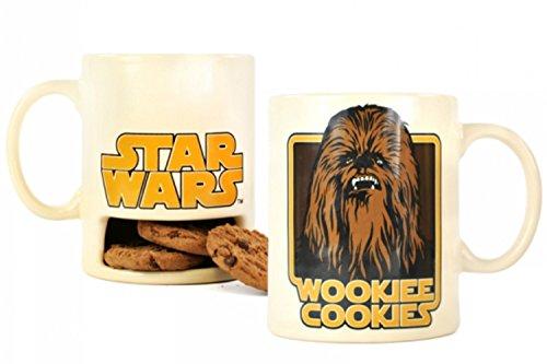 Star Wars Chewbacca Wookie Cookie Slot Biscuit Holder Boxed Mug