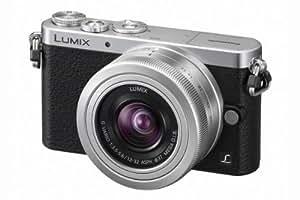 Panasonic Lumix DMC-GM1 Appareil photo numérique Hybride 16 mégapixels, 7,6 cm (3 pouces) + Objectif 12-32 mm f/3.5-5.6 Noir / Argent (Import Europe)