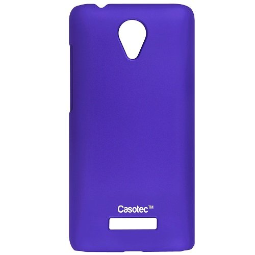 Casotec Ultra Slim Hard Shell Back Case Cover for Micromax Canvas Spark Q380 - Purple  available at amazon for Rs.149